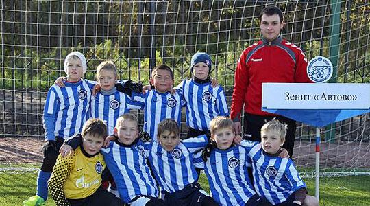 Наш клуб входит в структуру Академии ФК Зенит и ведет подготовку детских групп.