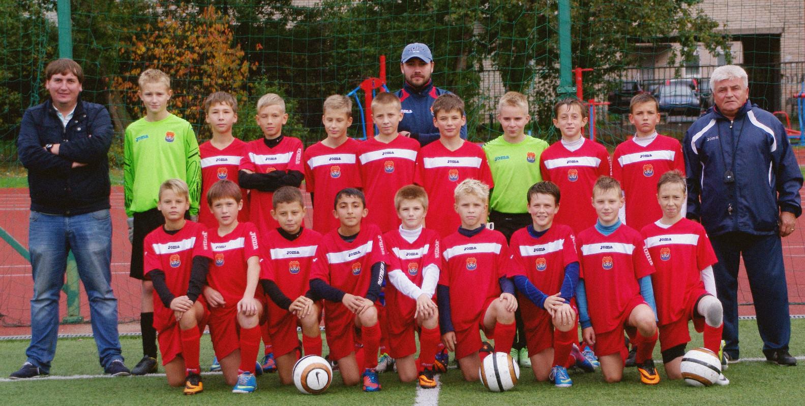 Команда АВТОВО 2001 года рождения