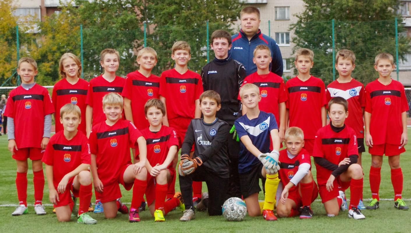 Команда АВТОВО 2002 года рождения